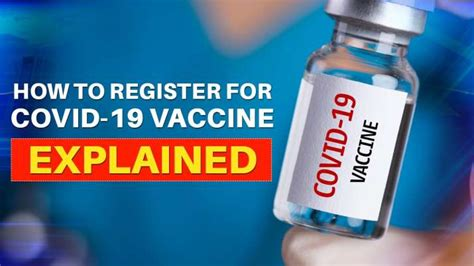 covid  vaccine registration documents process explained