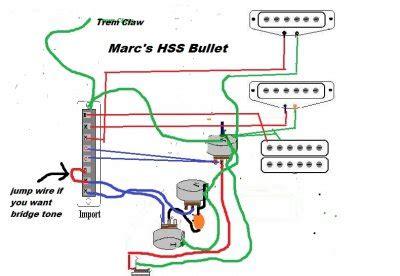 Squier Bullet Wiring Diagram by Beater Bullet Project Squier Talk Forum