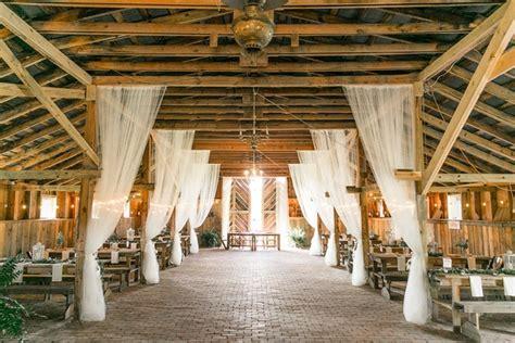 diy alfresco ceremony rustic barn reception in carolina inside weddings