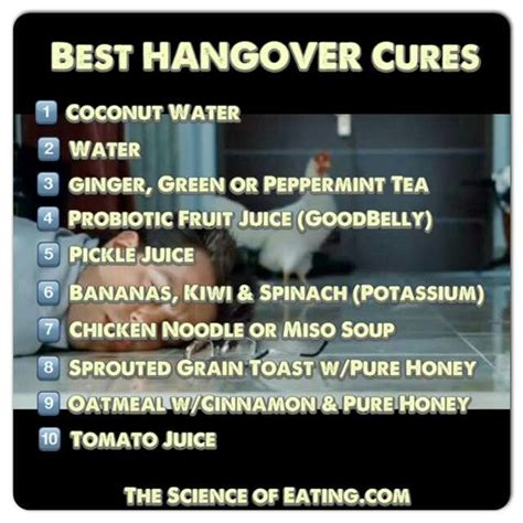 best hangover cure best hangover cures life pinterest