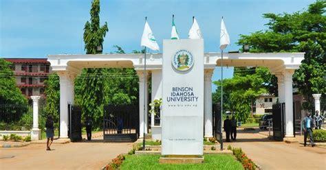 benson idahosa university scholarship undergraduates