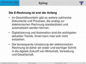 E Rechnung öffentliche Verwaltung : de vereon vortrag die integration der e rechnung in bestehende it ~ Themetempest.com Abrechnung