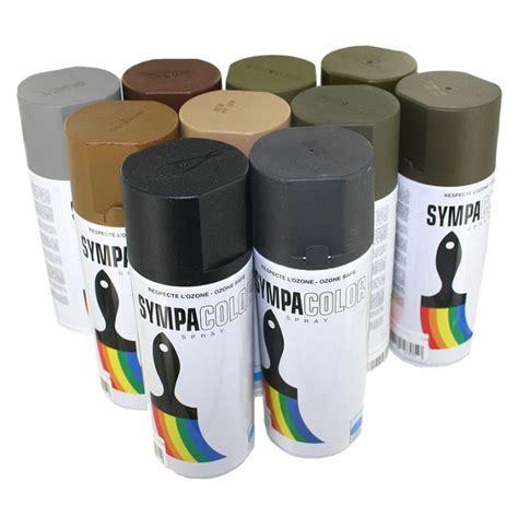 peinture en bombe bombe peinture militaria 400ml rotbraun brun mat airsoft militaria