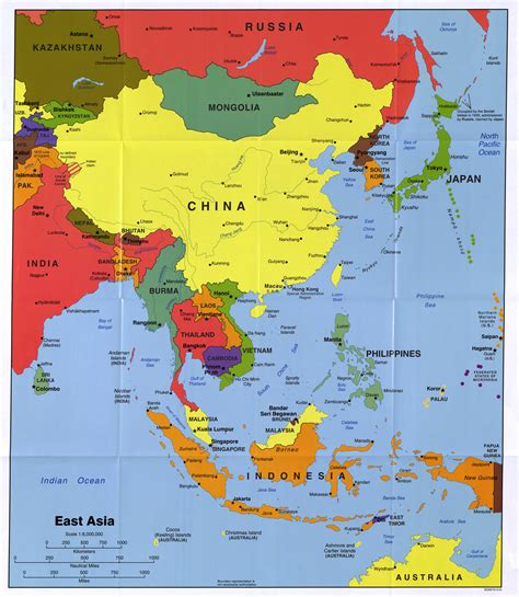 map  eastern asia estarteme