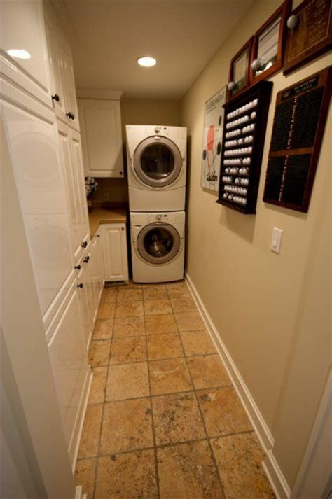 narrow laundry room    picture