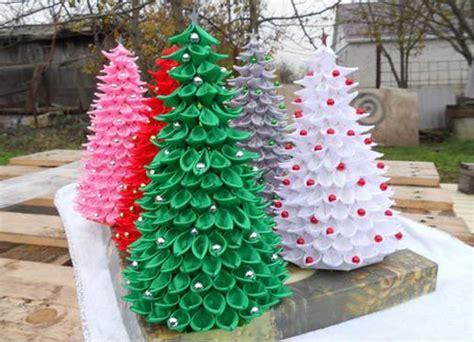 ribbon craft ideas ribbon christmas trees nbeads
