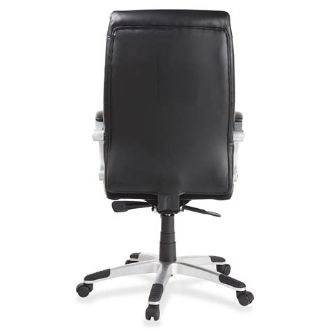 product llr60620 lorell executive bonded leather high back