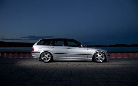 bmw stanced stanced bmw e46 touring photos cars one love