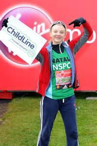 Natalie Dormer Marathon by Natalie Dormer At The Marathon Start