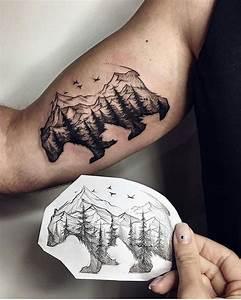 Tatouage Loup Graphique : 1001 mod les de tatouage homme uniques et inspirants ~ Mglfilm.com Idées de Décoration