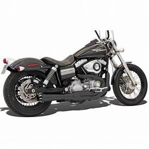 Harley Davidson Auspuff : auspuff 2 1 mega road rage ii fxd chrom schwarz taco ~ Jslefanu.com Haus und Dekorationen