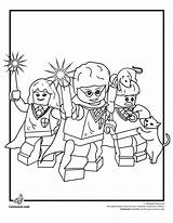 Lego Coloring Pages Harry Potter Tipjunkie sketch template