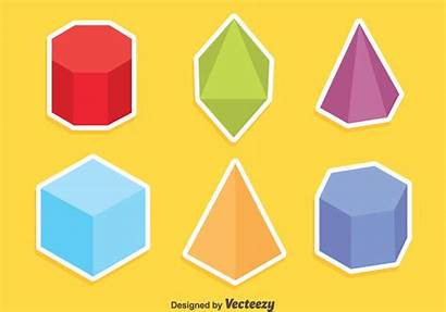 Geometric Shapes Vector Colored Clipart Vectors Graphics