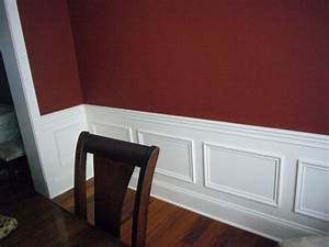 paintingwall2colors painting walls two colors as With wall paint ideas with chair rail