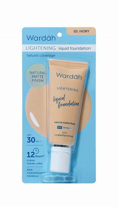 Wardah Foundation Lightening Liquid Ml Ivory Beige