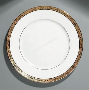 Assiette De Présentation : vaisselle raynaud assiette de presentation ambassador or ambor021 ~ Teatrodelosmanantiales.com Idées de Décoration