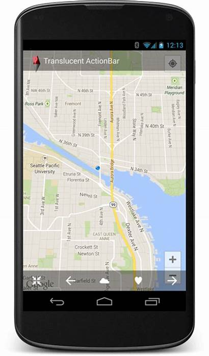 Google Maps Screen Mobile Marker Features Map