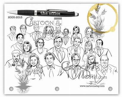 Office Cast Tv Cartoon Cartoons Final Season