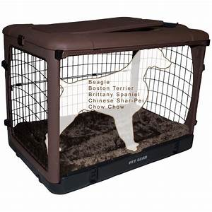 pet gear the other door steel dog crate with pad petco With dog crates for dogs