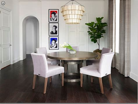 industrial modern  dining table  upholstered