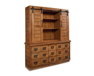 magnolia home farmhouse china cabinet furniture row