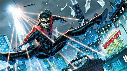 Nightwing Dc Comics Dick Superheroes Comic Grayson