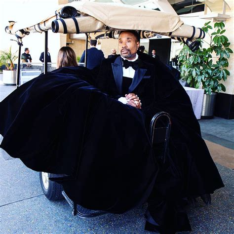 Billy Porter Showed For The Oscars With Head Turning