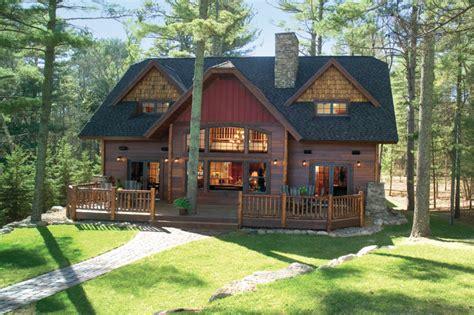 exterior paint colors for a lake cabin studio design