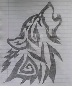 just drawn this wolf today | pintrist | Pinterest | Tribal ...