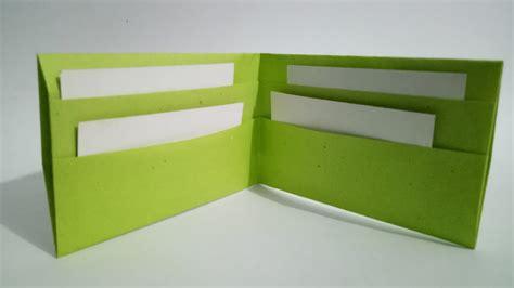 paper wallet easy origami wallet  tape