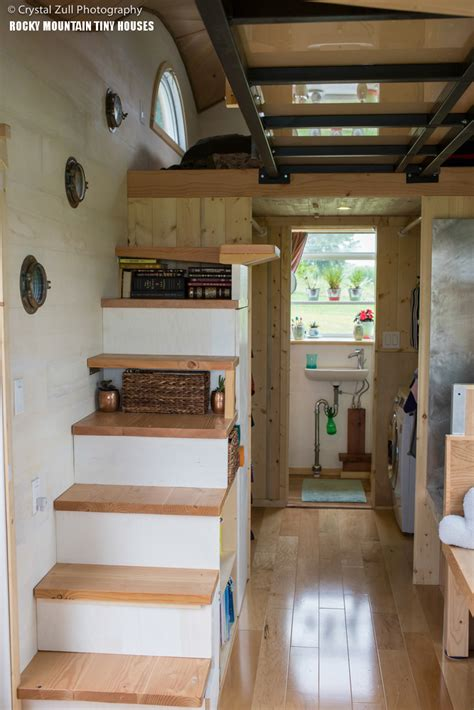 whimsical tiny house    loft bedrooms