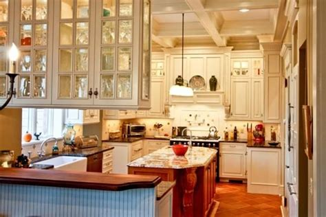 kitchen cabinets with glass doors on both sides kitchen cabinets with glass doors on both sides 9863