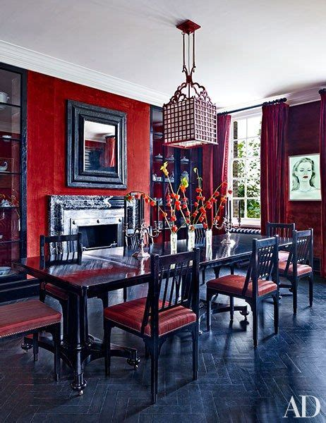 ideas  red dining rooms  pinterest red accent walls red accent bedroom