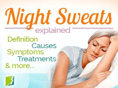 Night Sweats Symptom Information | Menopause Now