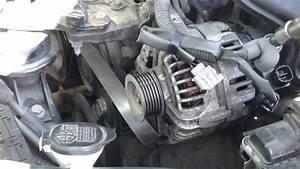 How To Change Alternator Toyota Corolla  Vvti Engine Years