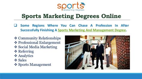 marketing degree courses get the best sports marketing degree to make a bright
