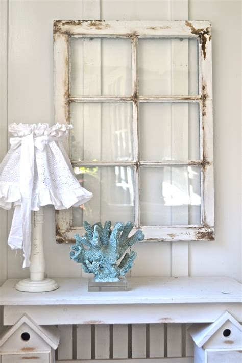 See more ideas about window wall decor, decor, window wall. Heavy old vintage farm window Wall decor rustic by Anniesimages