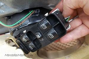 W203 Door Switch Repair  U2013 Mb Medic
