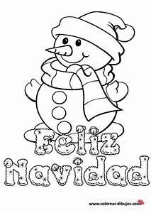 Tarjetas De Felz Navidad Para Pintar Y Dedicar Colorear Imgenes