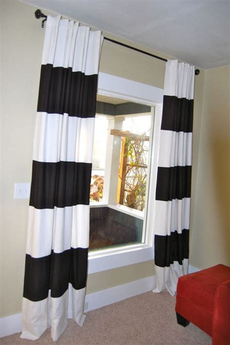 17 best images about black and white striped curtains on