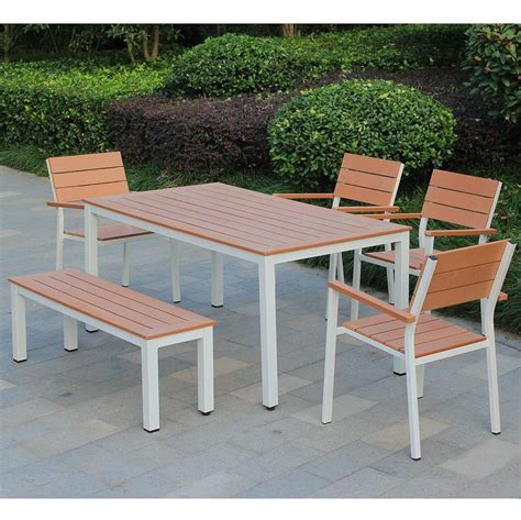 kontiki dining sets composite medium ideal for 6 seats