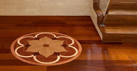 Wood Floor Medallions   Handcrafted Wooden Flooring