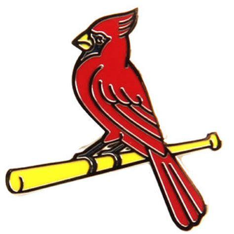 st louis cardinals bird on bat lapel pin st louis