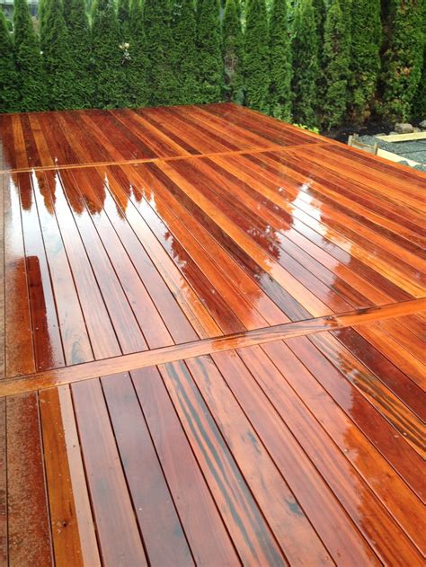 Tiger Wood Decking by 17 Best Images About Hardwood Decking More On