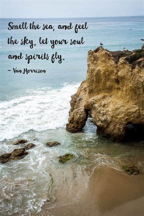 collection  inspirational quotes   sea