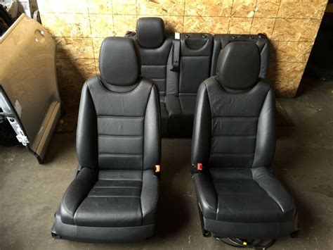 Cayenne Back Seat by Porsche Cayenne Oem 957 Front Rear Interior Leather Seats