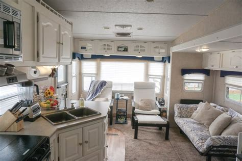 top of kitchen cabinet decor ideas 6 easy remodel projects that transformed our rv