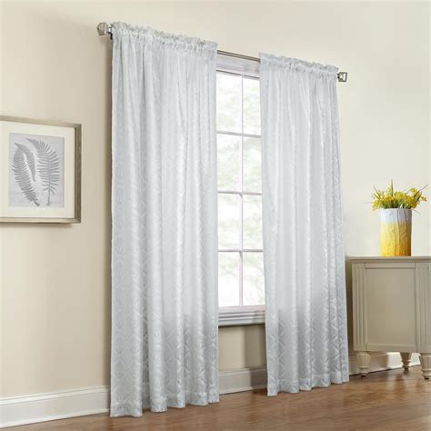 Annas Linens Curtain Rods by Thermalace Insulated Rod Pocket Curtain Panel Pair