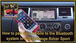 Range Rover Bluetooth Code Pin
