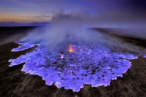 lava l blue the mystery of blue lava and the kawah ijen volcano